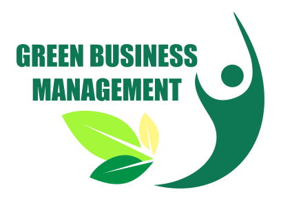 logo green business management